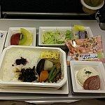 【ANA】機内食はJALの方が個人的に好きです。