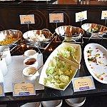 ハイピリオンラウンジで朝食