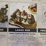うちは「LANDS END」にしました。14.5ドルはまあいいとして、1810kcal!やばい!