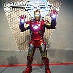 最後にアイアンマンとおしゃべりしながら記念撮影したら終了!ありがとう、トニー・スターク!
