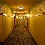長い廊下。