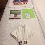 ナビゲーターとチップを入れるポチ袋とポスターです♪