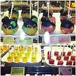 ミニーちゃんのお店のお菓子達も夏デザインに♡