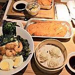 海鮮入りネギ風味味付け麺定食