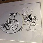 ところどころ、船内の絵画にもラプンツェル要素が!