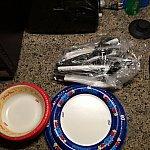 紙皿がありました♪