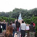 シンデレラ城のミニチュア。人がいっぱいいたのでここでサラッと観て終わりました