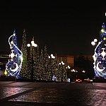 10周年のクリスマスシーズンはイルミが美しかった(その後、装飾は見てません)