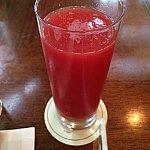 西瓜ジュース♪さっぱり飲みやすいです♪