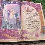 ラプンツェルの物語世界から始まります。