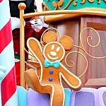 """ミッキーフロートの装飾""""ミッキージンジャーブレッド""""がめちゃくちゃ美味しそうです。笑"""