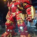 ハルクバスター以外にも、アイアンマンマーク1~7までが揃っています。