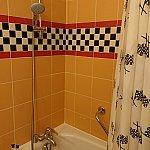 シャワーは取り外し可能です!水圧も問題ありません。浴槽も深いので、全身浸かることができました。