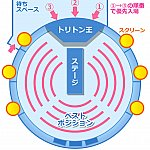 シアター鑑賞席とベストポジションの図解
