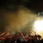 フィナーレの花火は凄いです!