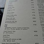 フリーリフィルは、730円のコーヒーもしくは紅茶の中で変更ができます。