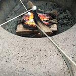 マシュマロを焼いて食べるイベントしてまして体験して来ました(^o^)