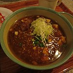 アツアツの麻婆麺は冬に最適!
