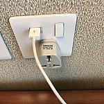 USBポート電源は、非常に助かります🤗