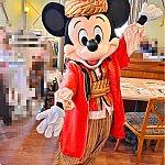 ミッキー。一緒にお写真撮る時にミッキーがいろいろポーズを教えてくれて楽しかったです。