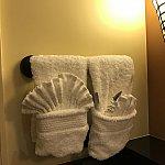 洗面台にかけられてたタオルも可愛くなってました(^^)