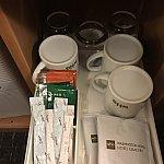 コーヒーやお茶などありました。