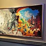 ピノキオがモノクロからカラーの世界へ
