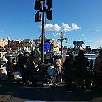 ブルーの船(昼)※広角レンズ使用