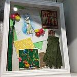 デザイナーのコンセプトアートも飾ってあります。