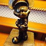 お部屋に設置されたランプはキャプテン・ミッキー♪