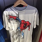 スパイダーマンはTシャツ類がとても充実していました。