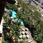 お部屋からの眺め②下にはワイラナプール&ラニヴァイスパ(写ってないですが^^;)がみえます
