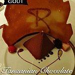 【GOUT】デザートはピラミッド型のチョコレートムース