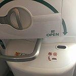 787-8は、非常口席の⬇️ラインが緑色が特徴です(^o^)