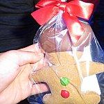 お土産のジンジャーブレットクッキー