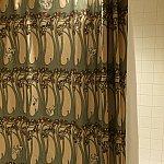 シャワーカーテンがバンビ!