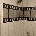 シャワーヘッドの穴全てから水は出てきませんでしたが、水圧は問題なしです!お湯もちゃんと出ました。