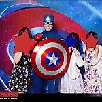 キャプテンアメリカが一番人気!