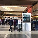 ここからは帰りですロスの空港内。受付のJALのお姉さんは日本人の方でした。すごく気さくに話しかけてくださいました。