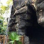 洞窟や滝で探検家気分にもなれます。