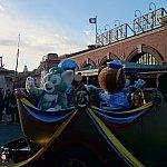 この日はミッキー、グーフィー、ダッフィー、ジェラトーニでした。