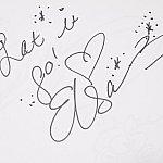 エルサのサイン