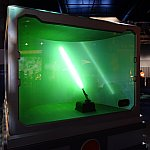 ライトセーバーの展示
