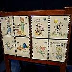 このゲームコーナーの中には子供が塗り絵をできるコーナーがあります。
