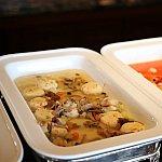 豆腐ハンバーグフワフワで美味しかったです♪コチラも優しい甘さですよ♪