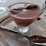 これが噂のストロベリースープ。美味しい!