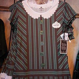 【ショップ】ホーンテッドマンションはコスチュームもかわいくて好きです❤コスチューム柄のTシャツかわいくて迷いました😍