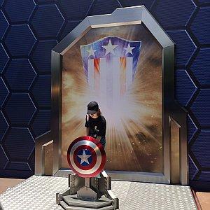 フォトロケ2。キャプテン・アメリカ。
