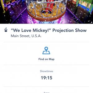 アプリで公演時間の確認が出来ます°○°