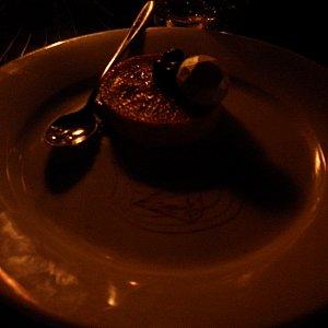 デザートの「Traditional Crème Brûlée」。メチャクチャおいしかった。
